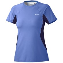 Columbia Sportswear Base Layer Top - Midweight, Short Sleeve (For Women) in Imperial - Closeouts