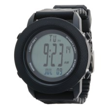 Columbia Sportswear Basecamp Sports Watch in Black/Black - Closeouts