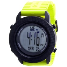 Columbia Sportswear Basecamp Sports Watch in Black/Lime - Closeouts