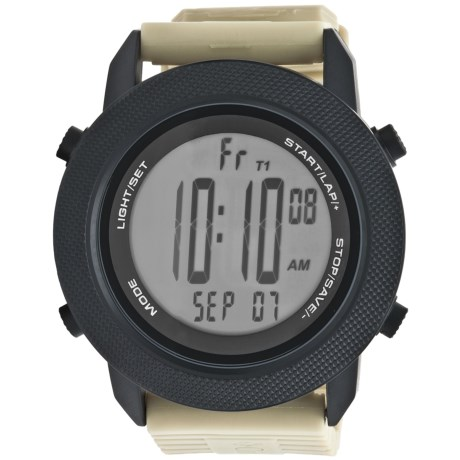 Columbia Sportswear Basecamp Sports Watch in Black/Sand