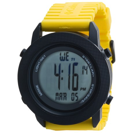 Columbia Sportswear Basecamp Sports Watch in Yellow