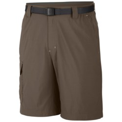 Columbia Sportswear Battle Ridge Shorts - UPF 30 (For Big Men) in Peatmoss