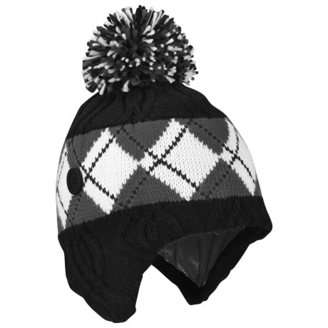 Columbia Sportswear BC Bandit Hat - Omni-Heat® (For Men and Women) in Black/Grill/Winter White