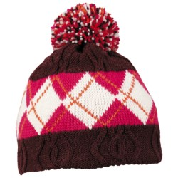 Columbia Sportswear BC Bandit Omni-Heat® Beanie Hat (For Men and Women) in Elderberry/Bright Rose