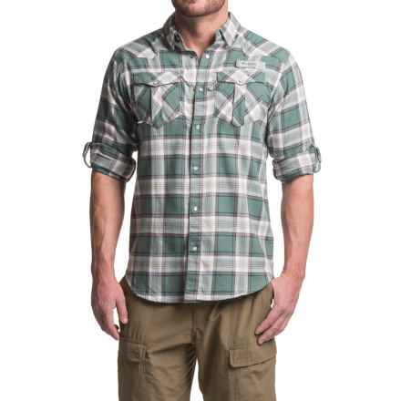 Columbia Sportswear Beadhead Flannel Shirt -  Long Sleeve (For Men) in Pond Plaid - Closeouts