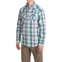 Columbia Sportswear Beadhead Shirt - Snap Front, Long Sleeve (For Men) in Carbon Plaid - Closeouts