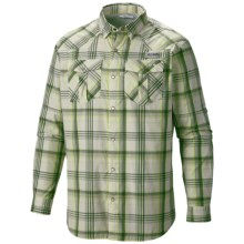Columbia Sportswear Beadhead Shirt - Snap Front, Long Sleeve (For Men) in Stone/Plaid - Closeouts