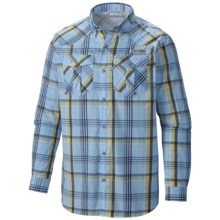 Columbia Sportswear Beadhead Shirt - Snap Front, Long Sleeve (For Men) in White Cap Plaid - Closeouts