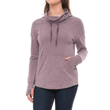 Columbia Sportswear Benning Hills Sweatshirt - Funnel Neck (For Women) in Dusty Purple Heather