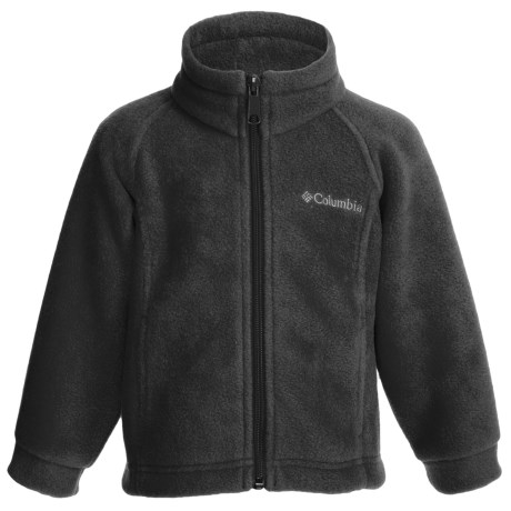 Columbia Sportswear Benton Springs Fleece Jacket (For Girls) in Black