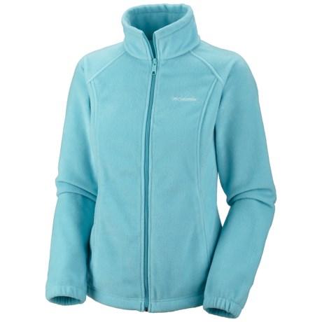 Columbia Sportswear Benton Springs Fleece Jacket (For Girls) in Clear Blue
