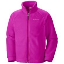 Columbia Sportswear Benton Springs Fleece Jacket (For Girls) in Groovy Pink/Groovy Pink - Closeouts