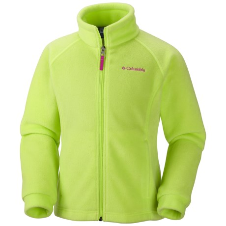 Columbia Sportswear Benton Springs Fleece Jacket (For Girls) in Tippet