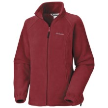 Columbia Sportswear Benton Springs Fleece Jacket - Full Zip (For Women) in 611 Red Element - Closeouts