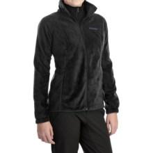 Columbia Sportswear Benton Springs Fleece Jacket - Full Zip (For Women) in Black/Hyper Purple - Closeouts