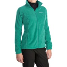 Columbia Sportswear Benton Springs Fleece Jacket - Full Zip (For Women) in Emerald - Closeouts