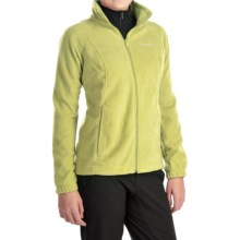 Columbia Sportswear Benton Springs Fleece Jacket - Full Zip (For Women) in Fresh Kiwi - Closeouts