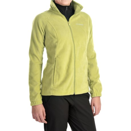 Columbia Sportswear Benton Springs Fleece Jacket - Full Zip (For Women) in Fresh Kiwi