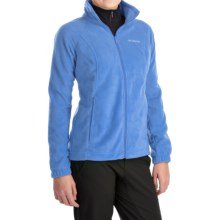 Columbia Sportswear Benton Springs Fleece Jacket - Full Zip (For Women) in Harbor Blue - Closeouts