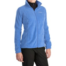 Columbia Sportswear Benton Springs Fleece Jacket - Full Zip (For Women) in Harbor Blue
