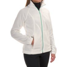 Columbia Sportswear Benton Springs Fleece Jacket - Full Zip (For Women) in Sea Salt/Blueglass - Closeouts