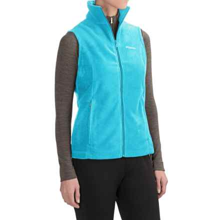 Columbia Sportswear Benton Springs Fleece Vest (For Women) in Atoll - Closeouts