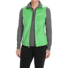 Columbia Sportswear Benton Springs Fleece Vest (For Women) in Chameleon Green - Closeouts
