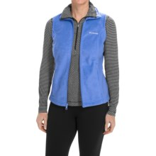 Columbia Sportswear Benton Springs Fleece Vest (For Women) in Harbor Blue - Closeouts