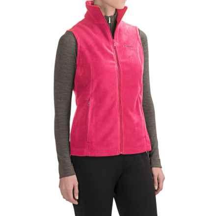 Columbia Sportswear Benton Springs Fleece Vest (For Women) in Punch Pink - Closeouts