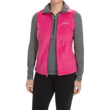 Columbia Sportswear Benton Springs Fleece Vest (For Women) in Ruby Red - Closeouts