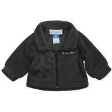 Columbia Sportswear Benton Springs Jacket - Fleece (For Infants) in Black - Closeouts