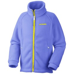 Columbia Sportswear Benton Springs Jacket - Fleece (For Toddler Girls) in Charcoal Heather