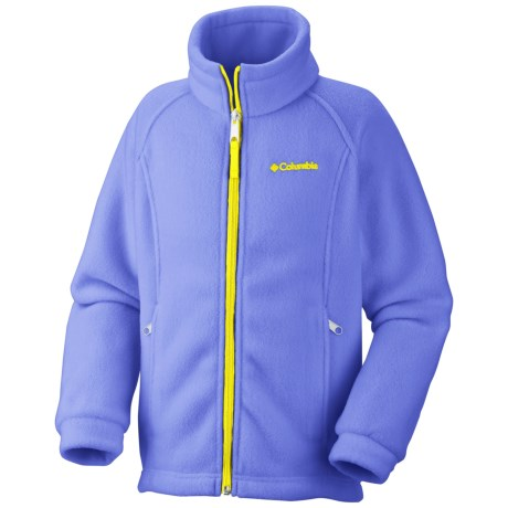 Columbia Sportswear Benton Springs Jacket - Fleece (For Toddler Girls) in Fairytale