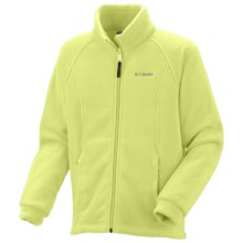 Columbia Sportswear Benton Springs Jacket - Fleece (For Toddler Girls) in Neon Light - Closeouts