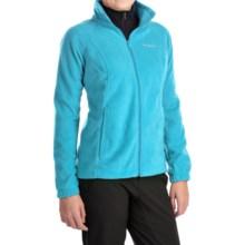 Columbia Sportswear Benton Springs Jacket - Full Zip (For Plus Size Women) in Atoll - Closeouts