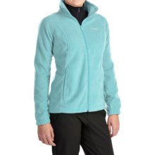 Columbia Sportswear Benton Springs Jacket - Full Zip (For Plus Size Women) in Candy Mint - Closeouts