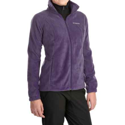 Columbia Sportswear Benton Springs Jacket - Full Zip (For Plus Size Women) in Quill - Closeouts