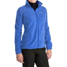 Columbia Sportswear Benton Springs Jacket - Full Zip (For Plus Size Women) in Stockholm - Closeouts