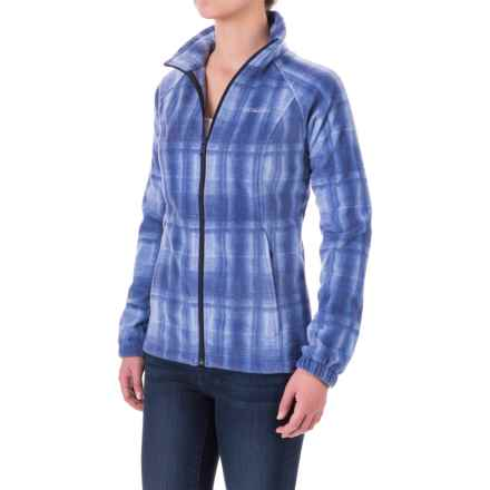 Columbia Sportswear Benton Springs Print Jacket (For Women) in Nightshade Plaid - Closeouts