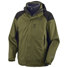 Columbia Sportswear Berkner Rise Parka - Titanium, Waterproof (For Men) in Cilantro - Closeouts