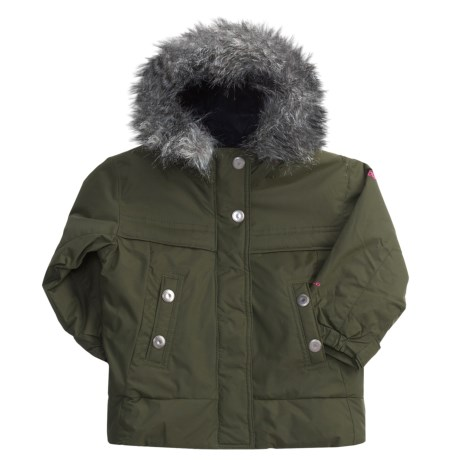 Columbia Sportswear Bettys Peak Jacket - Insulated (For Toddler Girls) in Surplus Green
