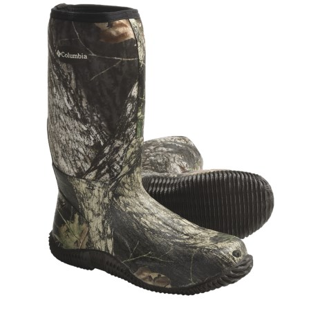 Columbia Sportswear Big Camo Hunting Boots - Waterproof (For Men) in Mossy Oak New Break-Up