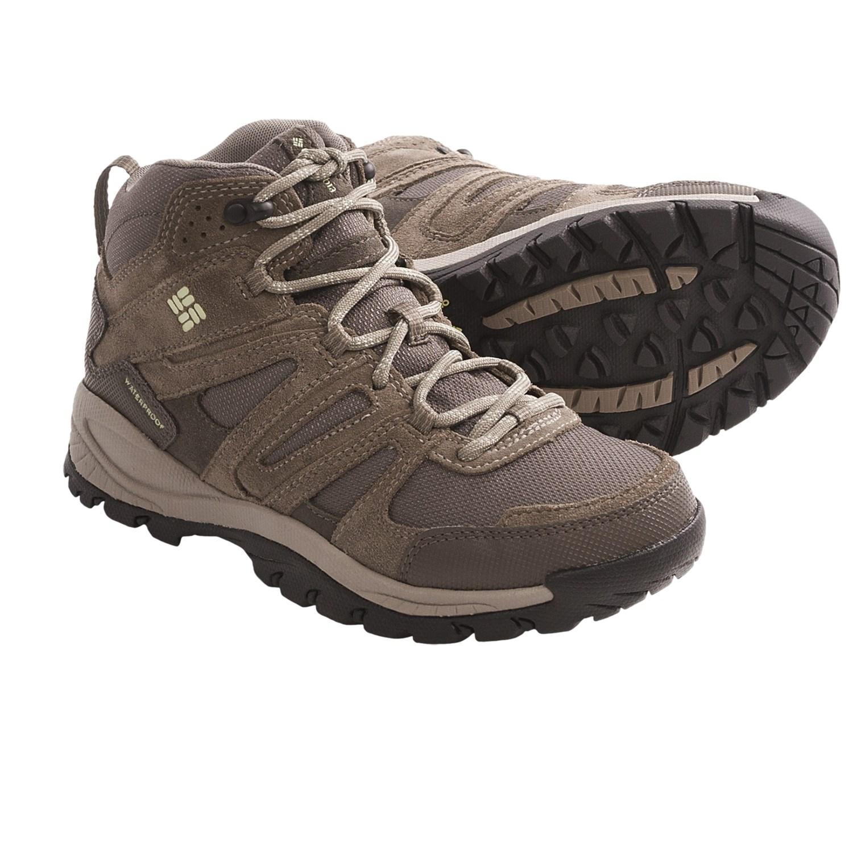 Columbia Womens Hiking Shoes Waterproof