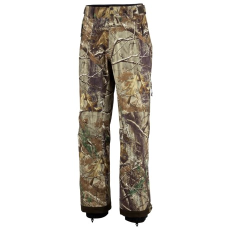 Columbia Sportswear Big Game Terrain Pants - Waterproof (For Men) in Realtree Ap