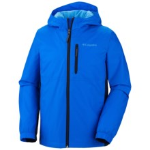 Columbia Sportswear Big Jump II Jacket (For Boys) in Hyper Blue/Collegiate Navy - Closeouts