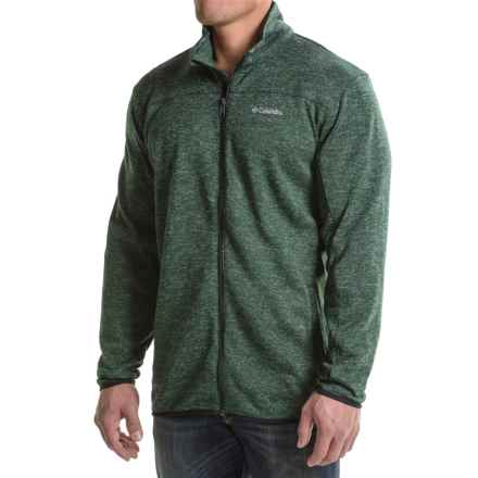 Columbia Sportswear Birch Woods Fleece Jacket (For Big Men) in Deep Woods - Closeouts