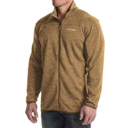 Columbia Sportswear Birch Woods Fleece Jacket (For Big Men) in Delta - Closeouts