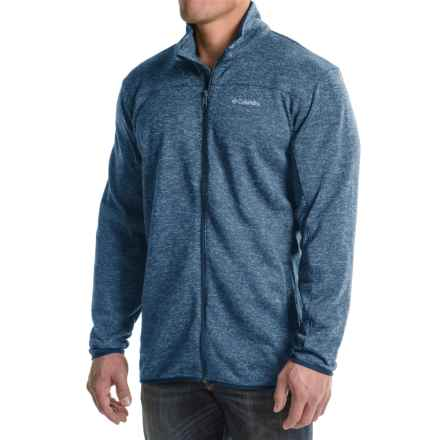 Columbia Sportswear Birch Woods Fleece Jacket (For Big Men) in Night Tide - Closeouts
