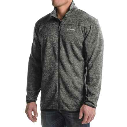 Columbia Sportswear Birch Woods Fleece Jacket (For Big Men) in Shark - Closeouts