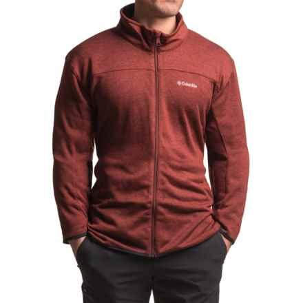 Columbia Sportswear Birch Woods Fleece Jacket (For Tall Men) in Deep Rust - Closeouts